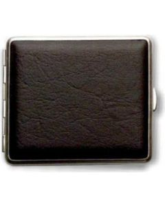 Cigaret case in leather look