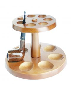 Round pipe stand for 7 pipes