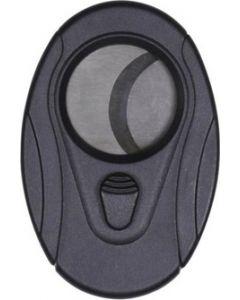 Black oval cigar cutter