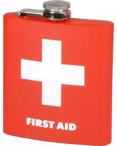 "Hip Flask ""First Aid"" 6oz"