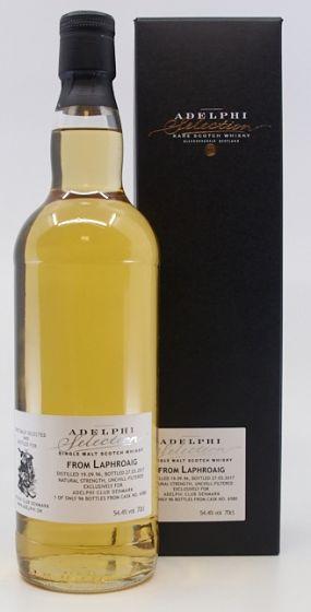 Adelphi Selection, Laphroaig 19 Years 70 cl. 54,4%