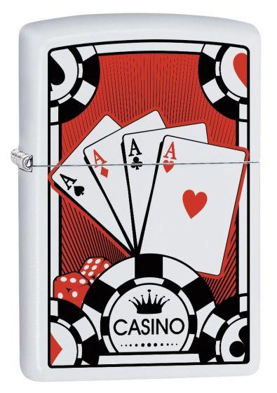 Zippo Four Aces design