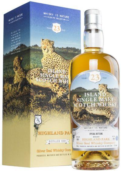 Silver Seal Highland Park 23 År Wildlife Collection Single Malt Whisky 51,5%