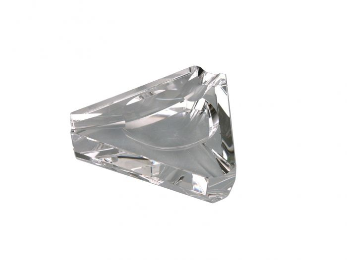 Passatore cigar ashtray in crystal