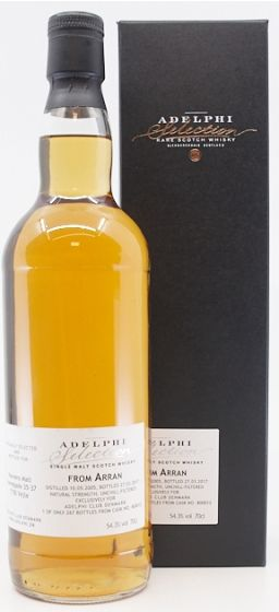 Adelphi Selection, From Arran 11 Years 70 cl. 54,3%