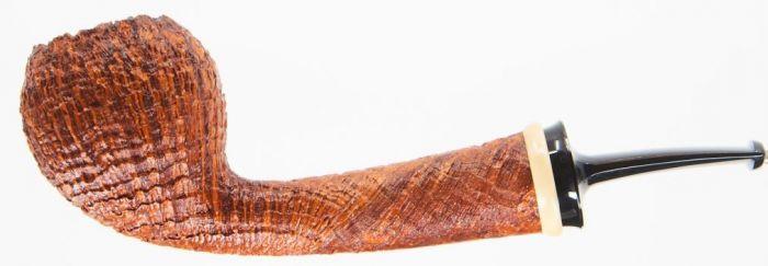 J.Alan Pipes Pot Sandblast w/bamboo