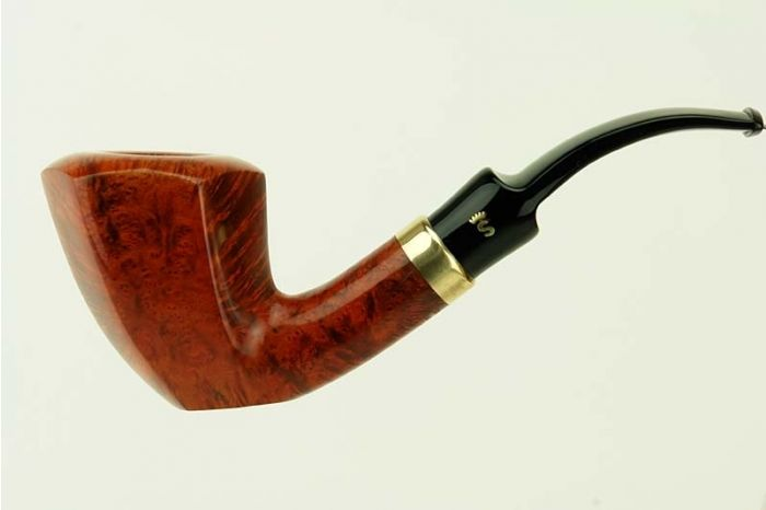 Stanwell 9mm Hexagon - Brown  Polished