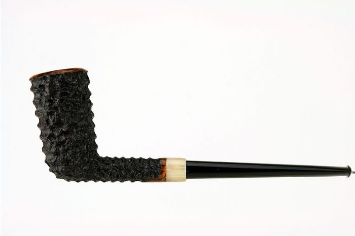 Tom Eltang A J Black Rusticated with horn