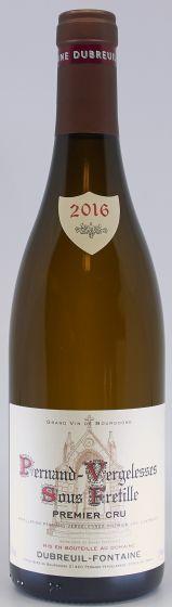 "Dubreuil-Fontaine, Pernand Vergelesses Blanc ""Sous Frétille"" 1. cru 2016, 75 cl."