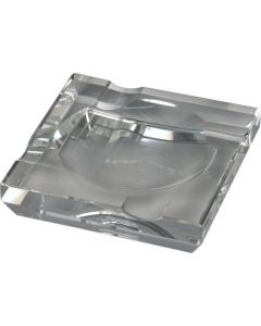 Cigar ashtray in crystal