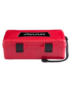 Xikar Rejsehumidors, Travel Humidor 10 Red