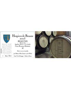 "Albert Sounit, ""Hospices de Beaune"" Beaune 1. cru 2015, 75 cl."