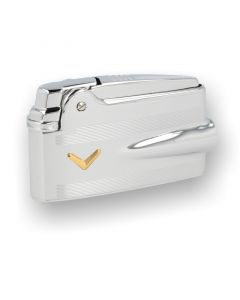 Ronson Premier Varaflame, Chrome with V