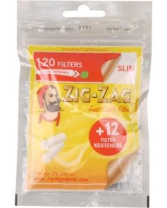 "ZIG ZAG filters ""Slim"" 6mm 120 pcs"